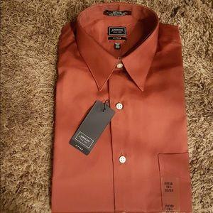 Men's Fitted Arrow Sunburst Dress Shirt